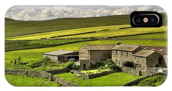 Swaledale Farm IPhone Case