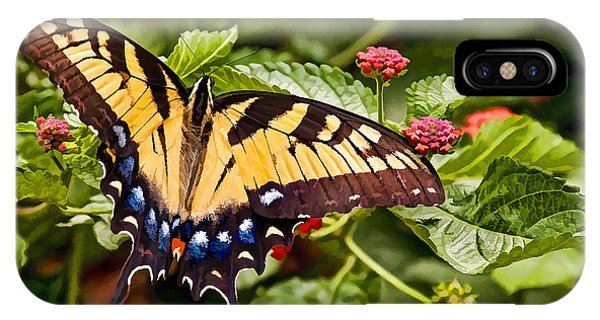Swallowtail Beauty IPhone Case