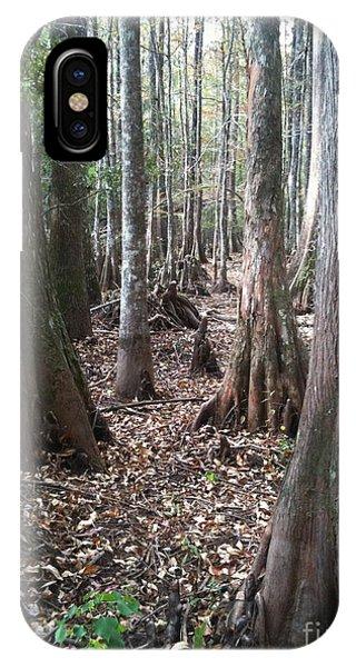 Swamp Edge Portrait IPhone Case