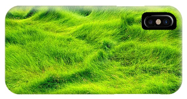 Swamp Grass Abstract IPhone Case