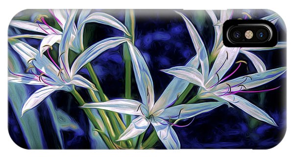 IPhone Case featuring the photograph Swamp Lilies by Steven Sparks