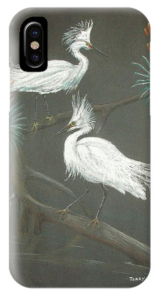 Swampbirds IPhone Case
