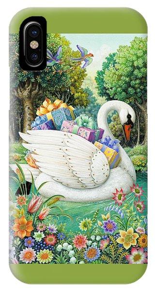 Swan Boat IPhone Case