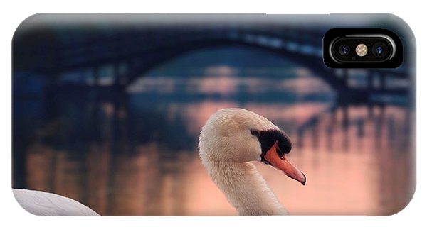Swan Bridge IPhone Case