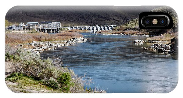 945a Swan Falls Dam Snake River Birds Of Prey Area IPhone Case