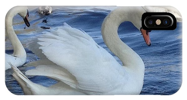 Swan Grace IPhone Case