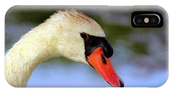 Swan Head Shot IPhone Case
