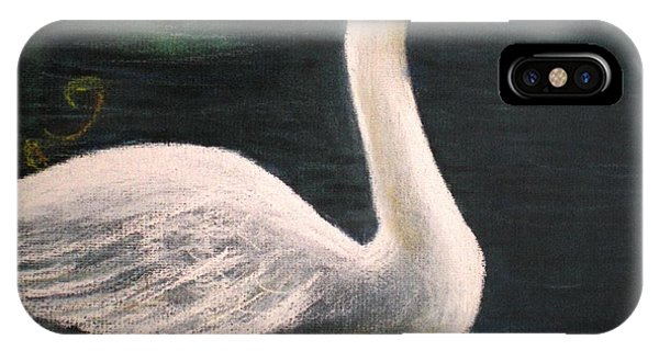 Swan I IPhone Case