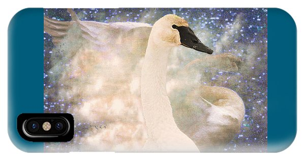 Swan Journey IPhone Case