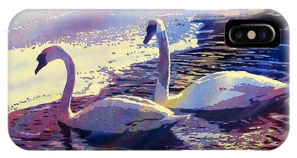 Swan Lake IPhone Case