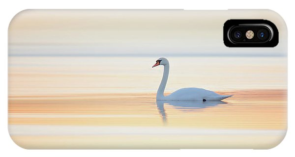 Swan iPhone Case - Swan by Leif L??ndal