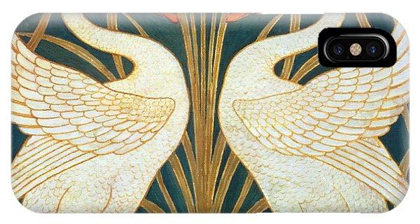 Swan Rush And Iris IPhone Case