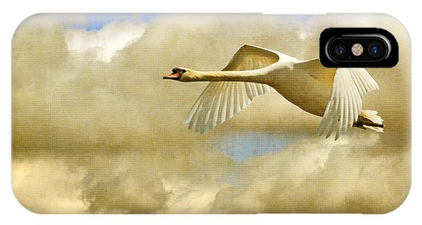 Swan iPhone Case - Swan Song by Lois Bryan