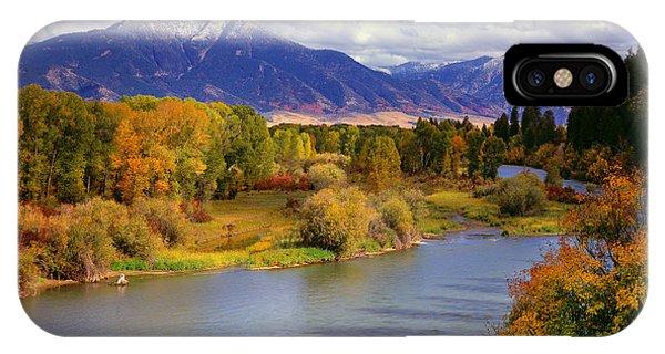 Swan Valley Autumn IPhone Case