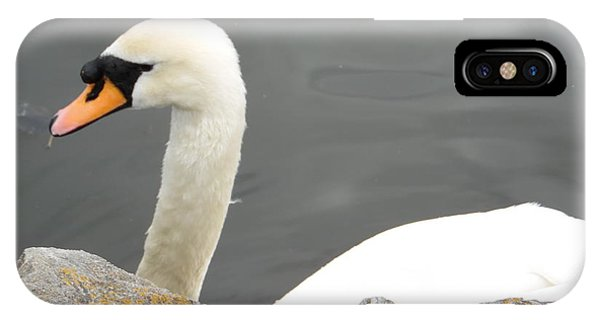 Swanness IPhone Case