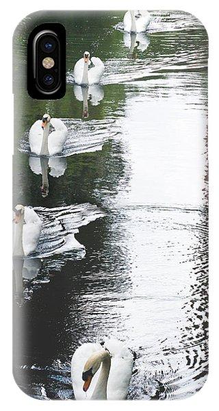 Swans IPhone Case