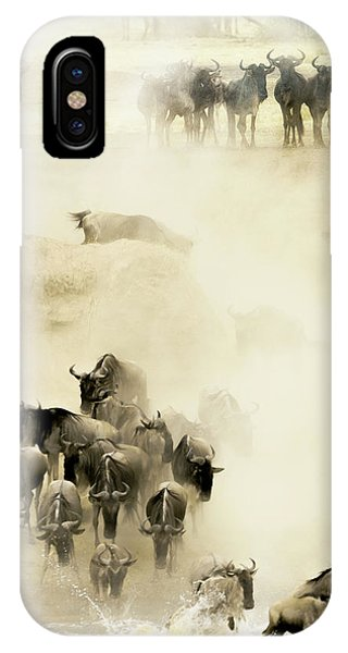 Dust iPhone Case - Swarming by Husain Alfraid