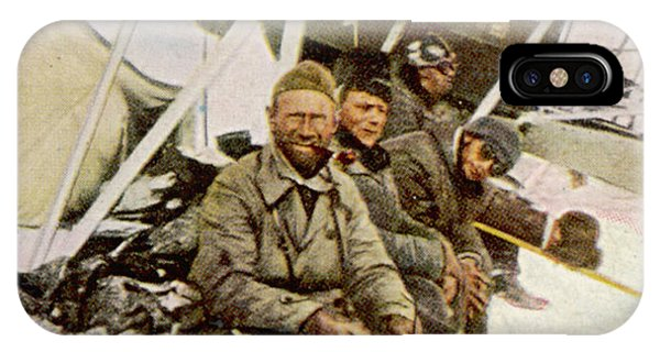 Swedish Aviator Lundborg, Who Phone Case by Mary Evans Picture Library