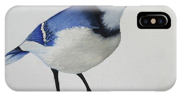 Sweet Blue Jay Phone Case by Mary Gaines