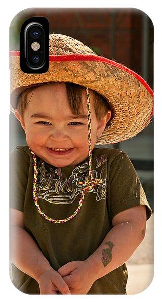 Sweet Boy Cowboy Hat IPhone Case