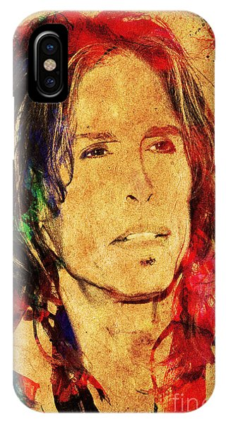 Steven Tyler iPhone Case - Sweet Emotion by Gary Keesler