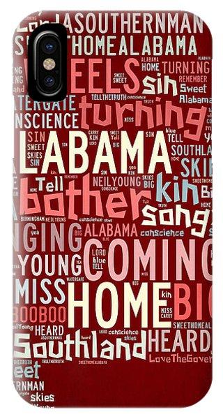 Sweet Home Alabama 4 IPhone Case