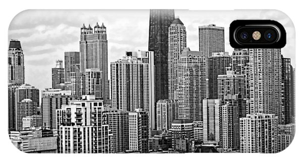 Sweet Home Chicago Bw IPhone Case