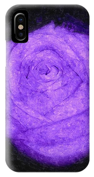 Sweet Lavender Rose IPhone Case