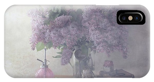 Scent iPhone Case - Sweet Lilacs by Delphine Devos