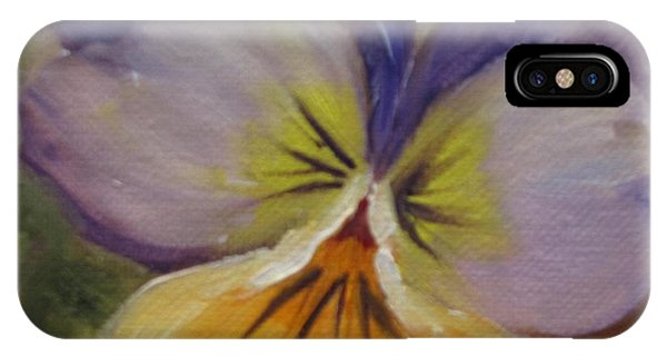 Sweet Pansy IPhone Case