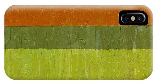Sweet Potato And Pea Green IPhone Case