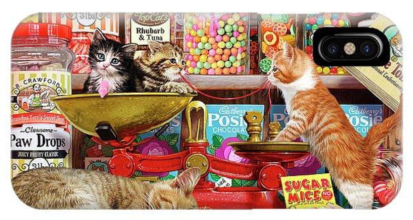 Sweet Shop Kittens IPhone Case