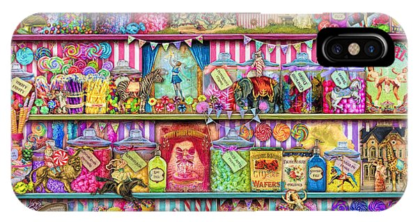Funfair iPhone Case - Sweet Shoppe by MGL Meiklejohn Graphics Licensing