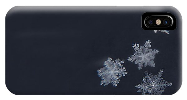 Winter iPhone Case - Sweet Snowflakes by Carrie Ann Grippo-Pike