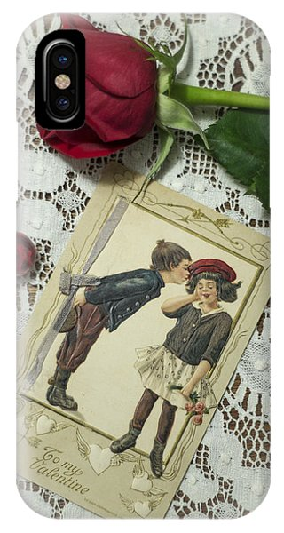 Sweet Valentine Couple IPhone Case