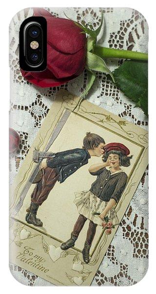 Sweet Valentine Couple IPhone Case