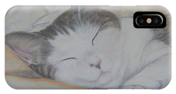 Sweet While Sleeping IPhone Case