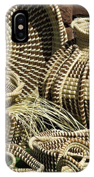 Sweetgrass Baskets - D002362 IPhone Case