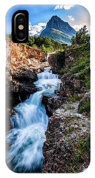 Swiftcurrent Falls IPhone Case