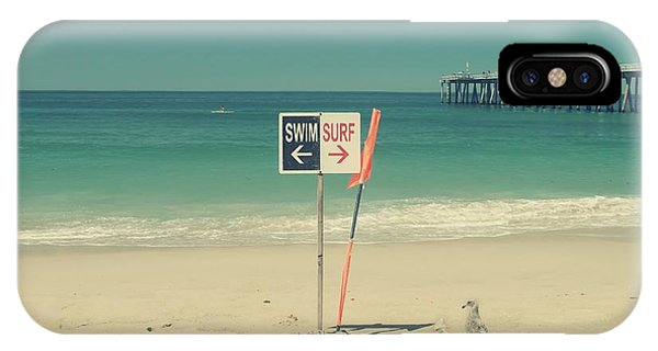 Swim And Surf IPhone Case