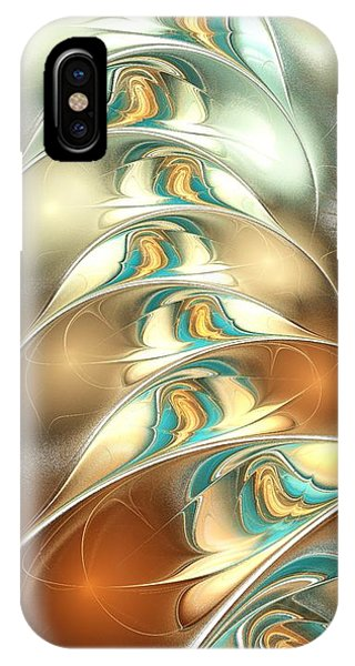 Swimming In Line IPhone Case
