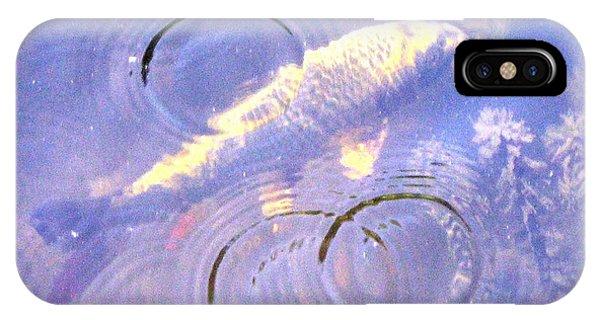 Swimming Koi IPhone Case