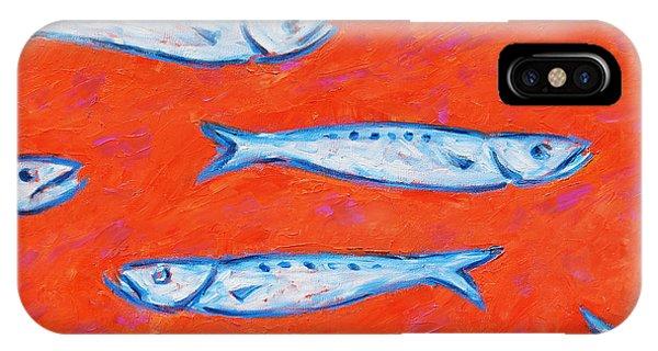 Swimming Upstream IPhone Case