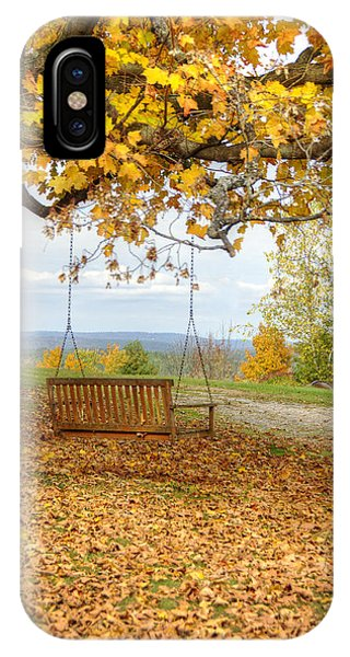 Swing With A View IPhone Case