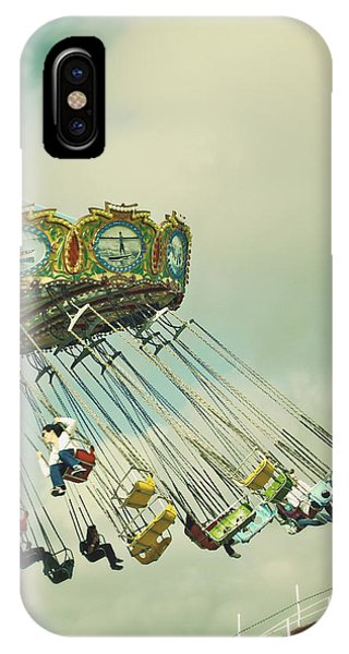 Swingin' - Santa Cruz Boardwalk IPhone Case