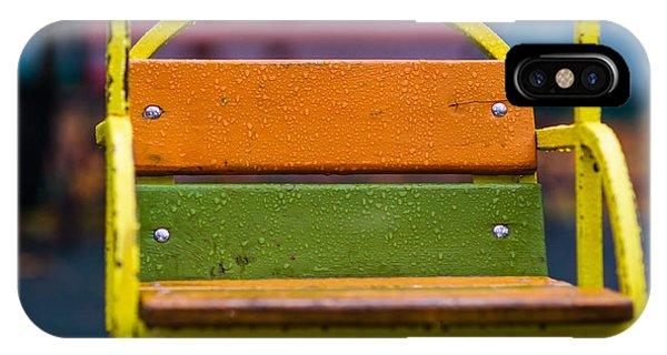 Swinging Rain - Featured 3 IPhone Case