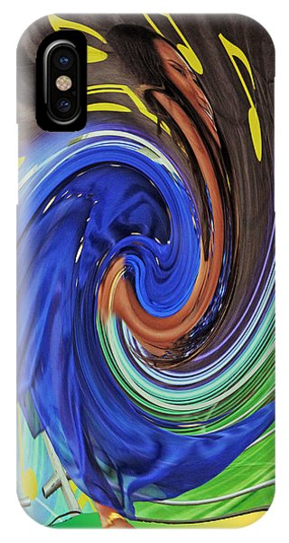 Swirl Dancer IPhone Case