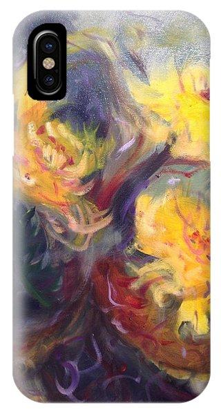 Swirling In Sun IPhone Case
