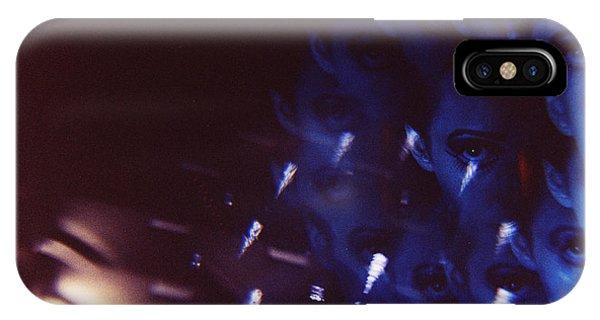 Swirls In Dark - Fine Art Analog 35mm Film Photographic Portrait Phone Case by Edward Olive