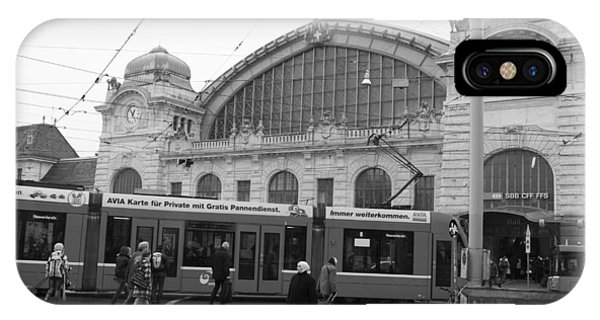 Swiss Railway Station IPhone Case